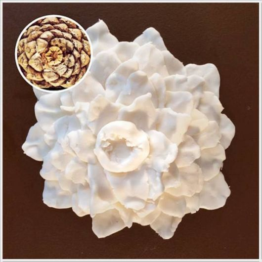 Wonderful Artwork With Cream And Cookies