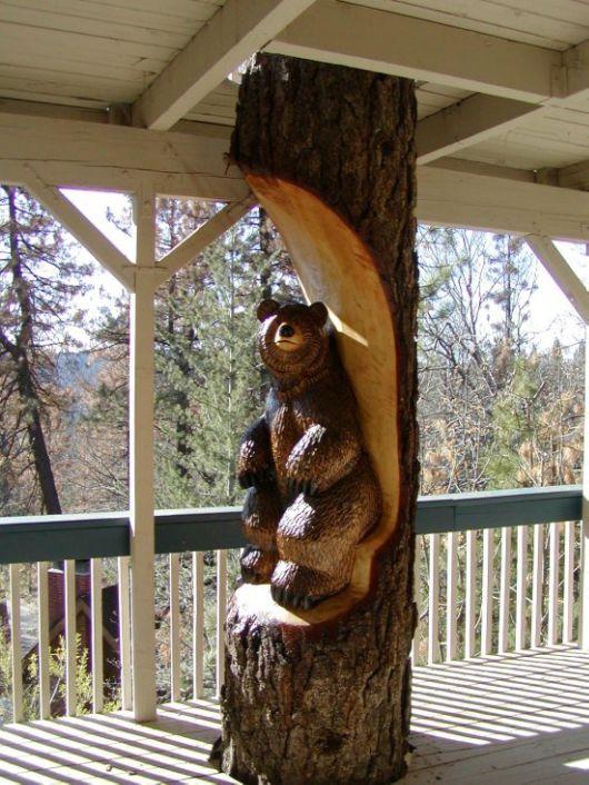 These Wooden Logs Got New Life As Stunning Art