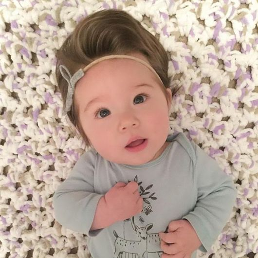 Babies Born With Full Heads Of Hair