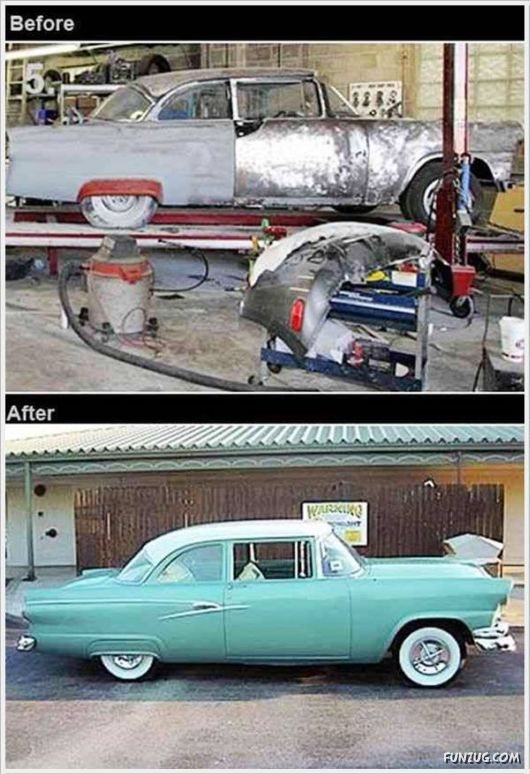 Giving New Life To The Old Cars