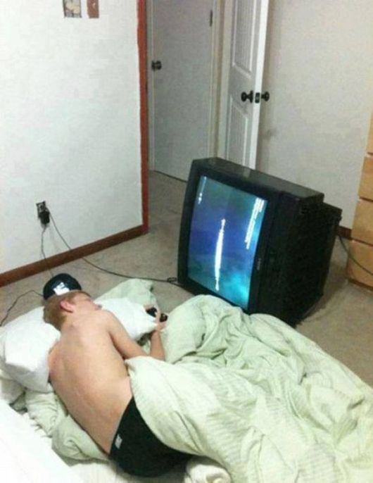 The Height Of Laziness