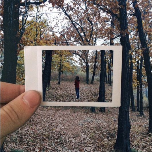 Dreamlike Moments Captured In Pictures Within Pictures