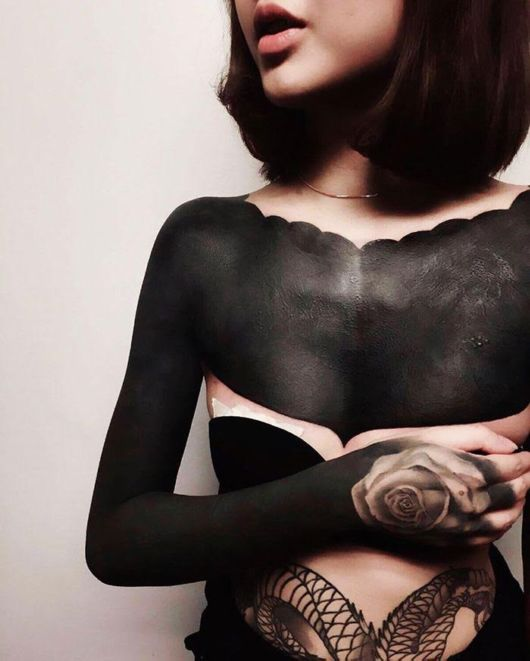 Blackout Tattoos Are The Latest Trend In Singapore