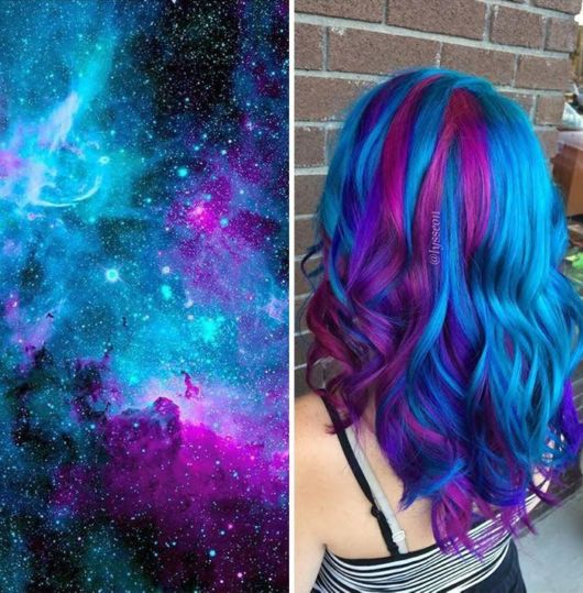 This Galaxy Hair Trend Is Out-Of-This-World
