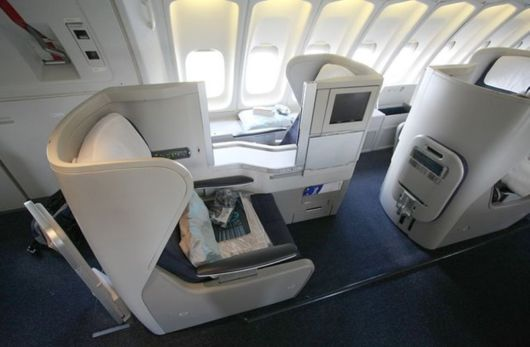 Airplane Luxury Class Facilities