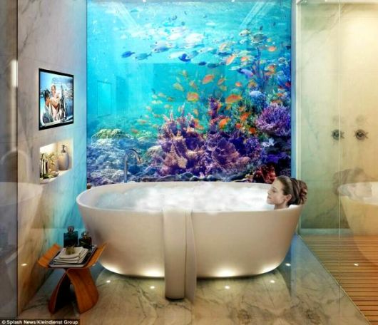 Stunning 1.8 Million Dollar Floating Seahorse Underwater Villas In Dubai