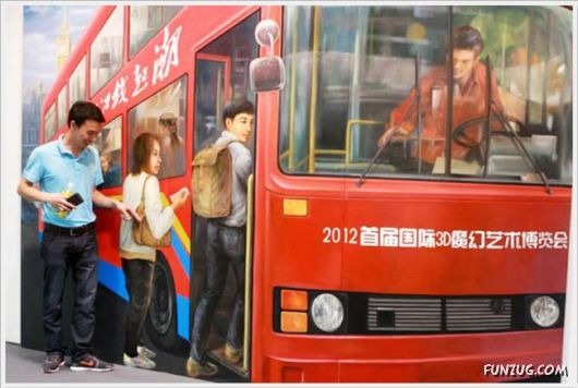 3D Paintings Exhibition In China