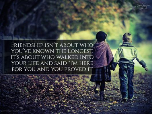 Friendship Quotes For The Weekend