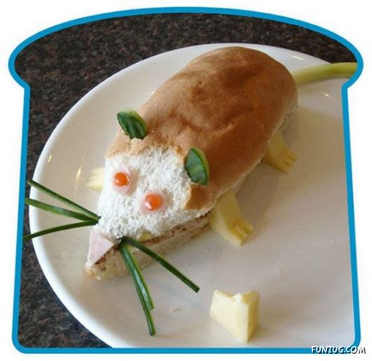 Funny Sandwiches Causing Temptation