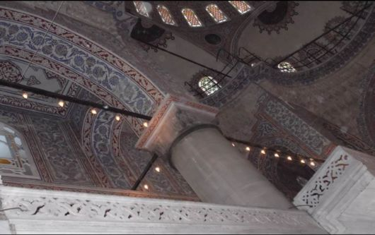 The Sultan Ahmed Mosque In Istanbul