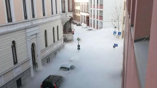 Clouds Of Carbon Dioxide Fill The Streets Of Germany