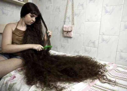 Natasha Got A First Haircut