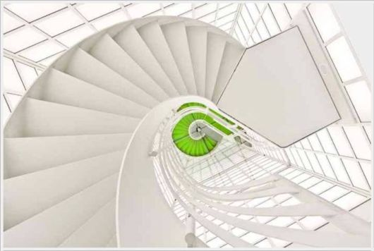 Wonderful Spiral Staircases
