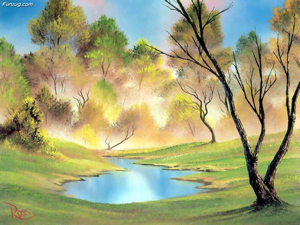 Fantastic Oil Painting Wallpapers