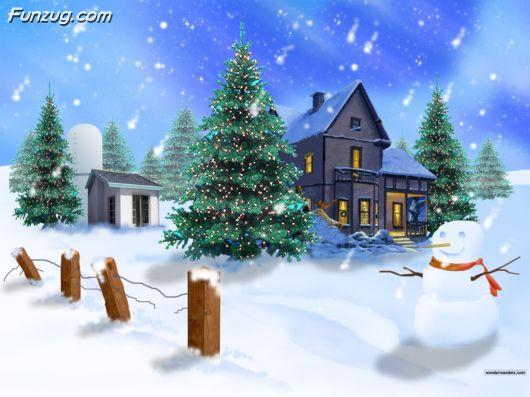 Creative Christmas Wallpapers