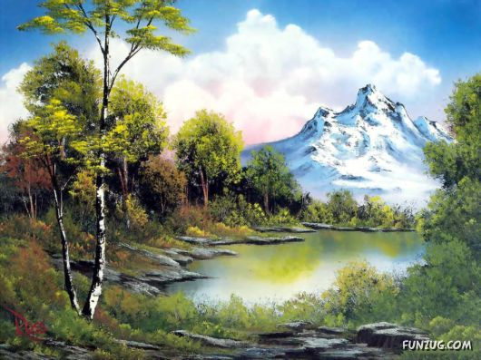 Click to Enlarge - Fantastic Oil Painting Wallpapers