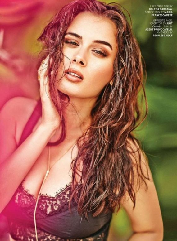 Evelyn Sharma Shoots For GQ India June 2014