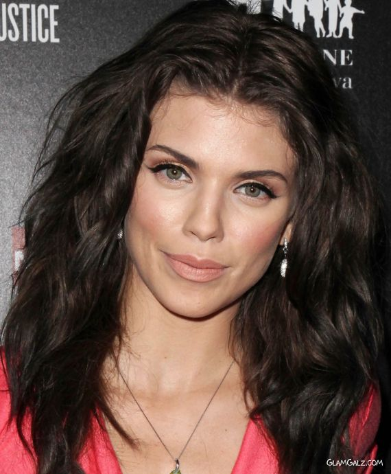 Beautiful Annalynne McCord At An Event