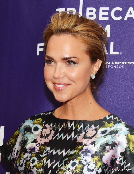 Arielle Kebbel At The Tribeca Film Festival