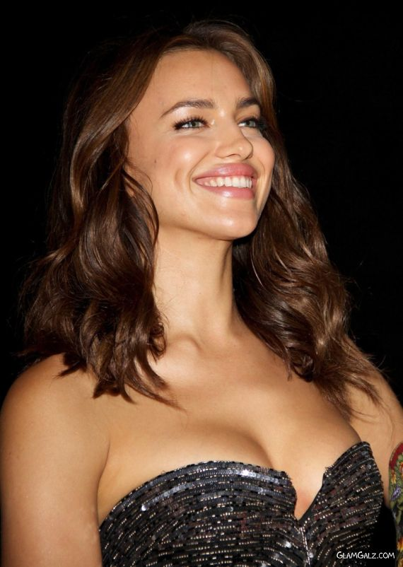 Beautiful Irina Shayk At The Awards Show