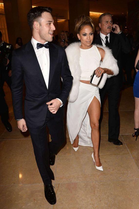 Jennifer Lopez Golden Globes After-Party