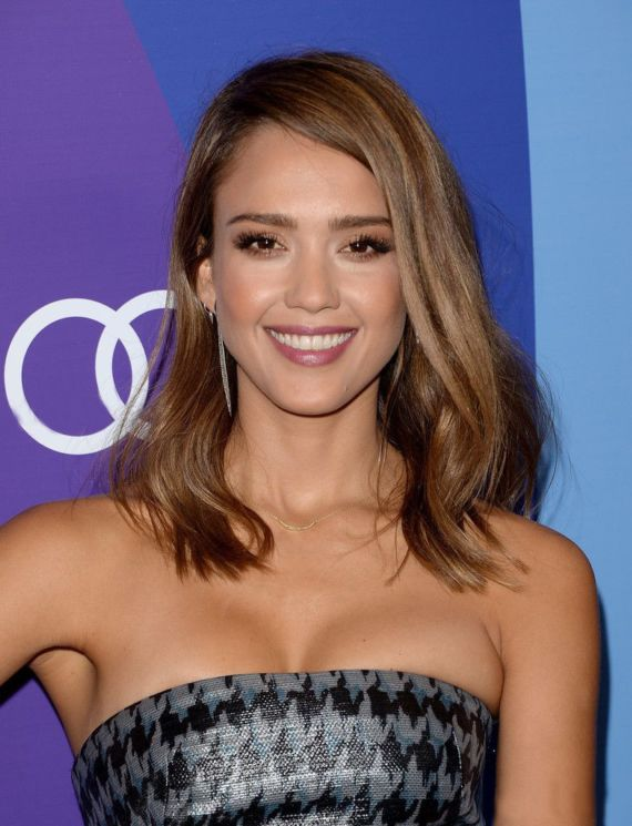 Jessica Alba At Variety's Annual Power Of Women Event