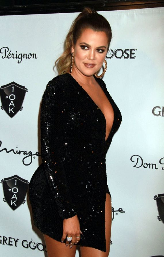 Khloe Kardashian Hosts At OAK In Vegas