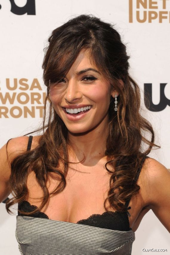 Sarah Shahi At USA Network Upfront Event
