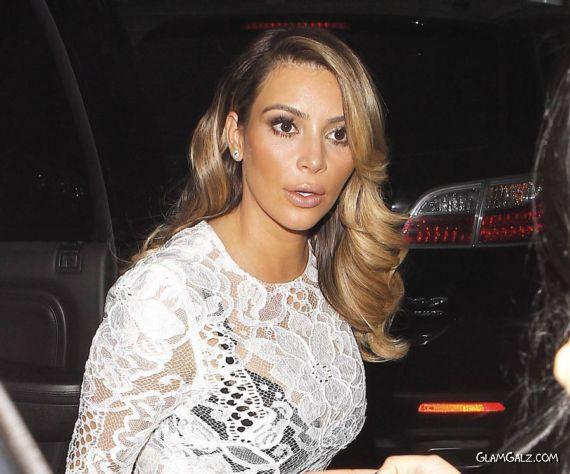 Gorgeous Miss Kardashian In LA