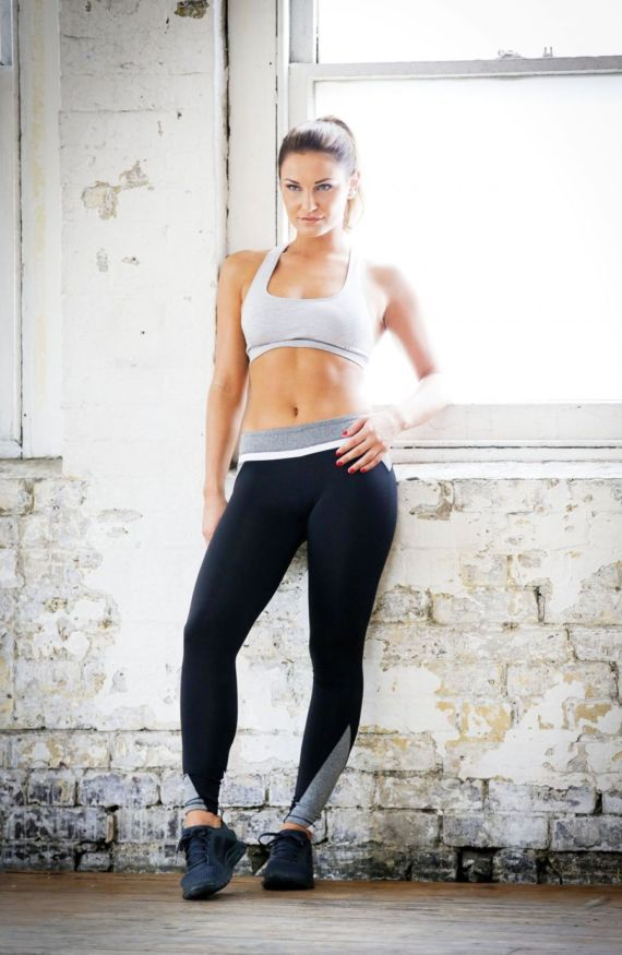 Sam Faiers Workout Photoshoot In London