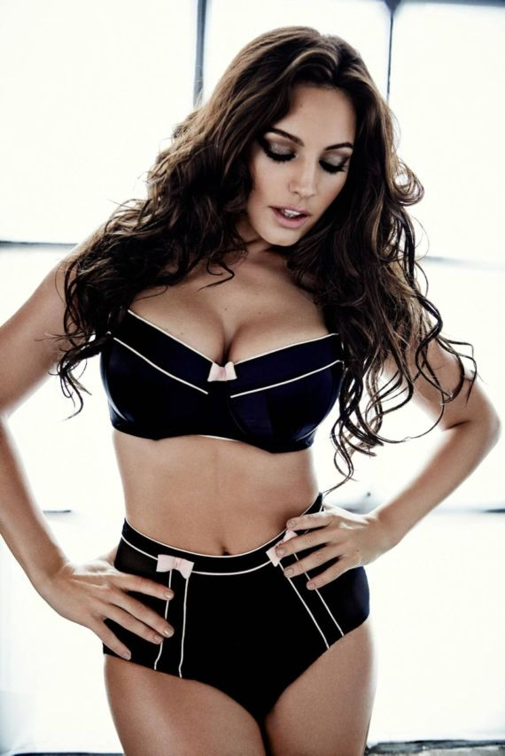 Kelly Brook's Exclusive New Look Photoshoot
