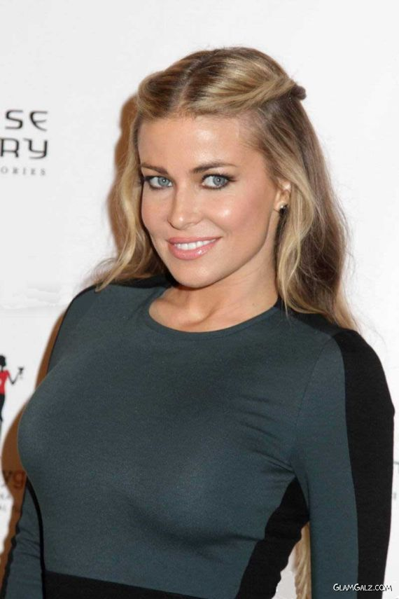 Carmen Electra At Chinese Laundry Launch