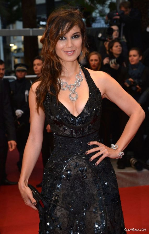 Berenice Marlohe At The Amour Premiere