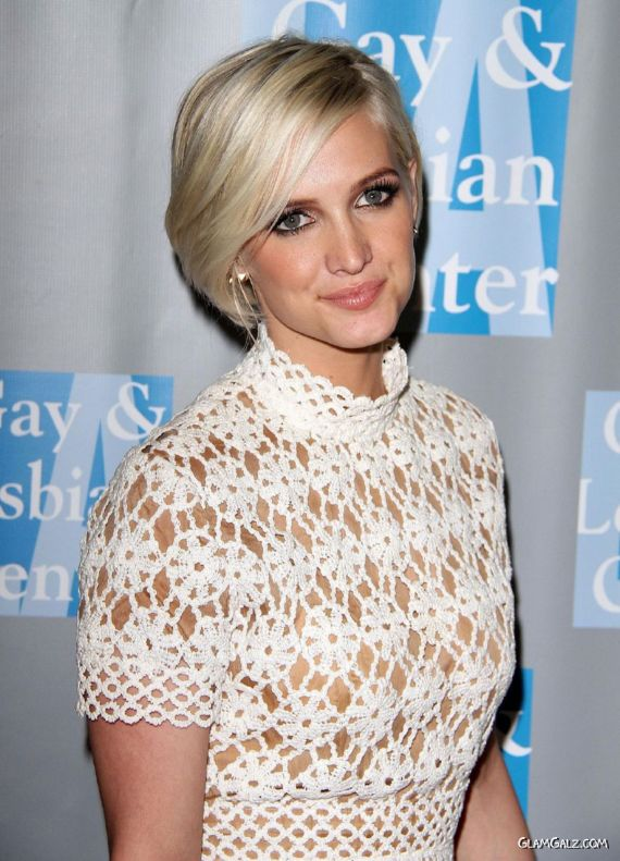 Ashlee Simpson In Beverly Hills