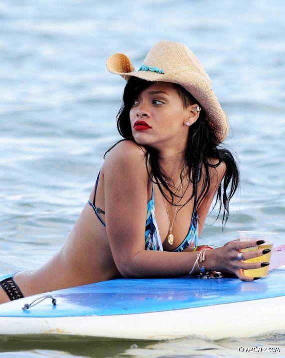 Rihanna Bikini Candids in Hawaii