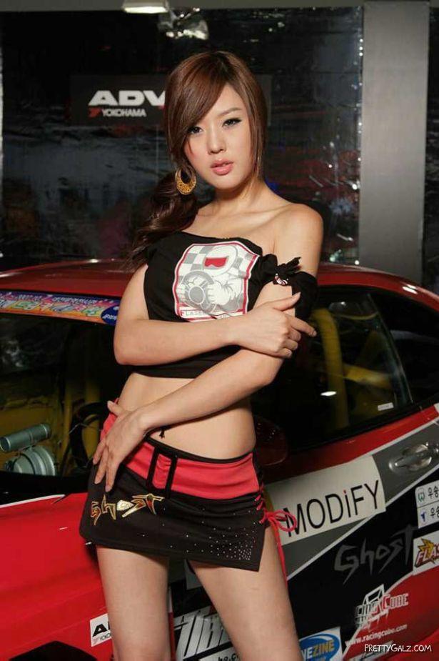 Korean Race Queen Hwang Mi Hee