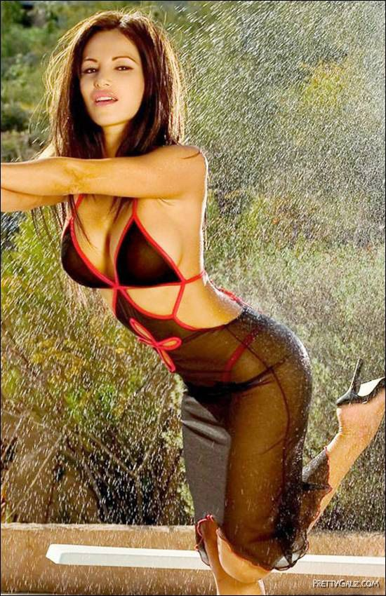 Colombian Model Lucia Tovar