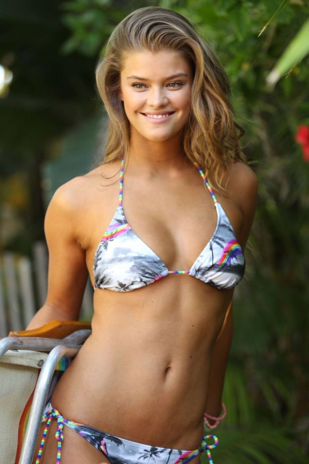 Nina Agdal Poses For OP Swim Campaign