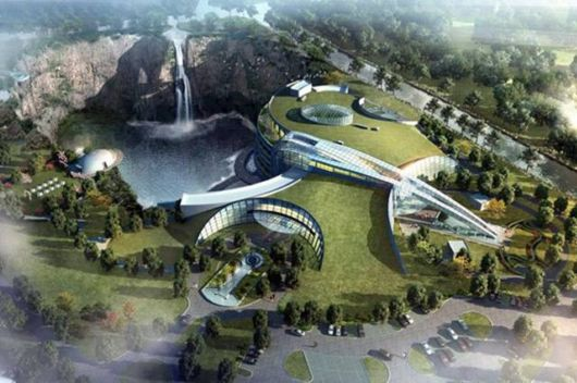 Amazing Underground Hotel In China