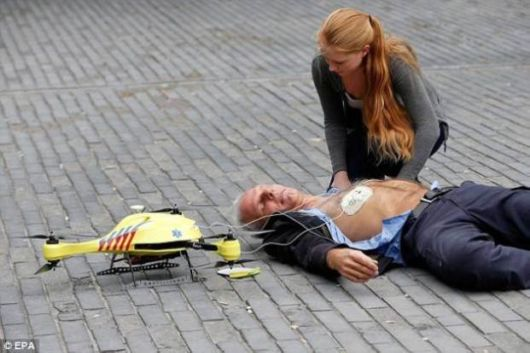 The Flying Defibrillator Drone Can Save Your Life