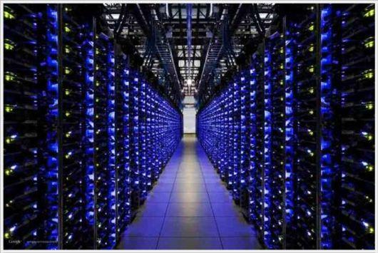 Secret Data Center Of Google